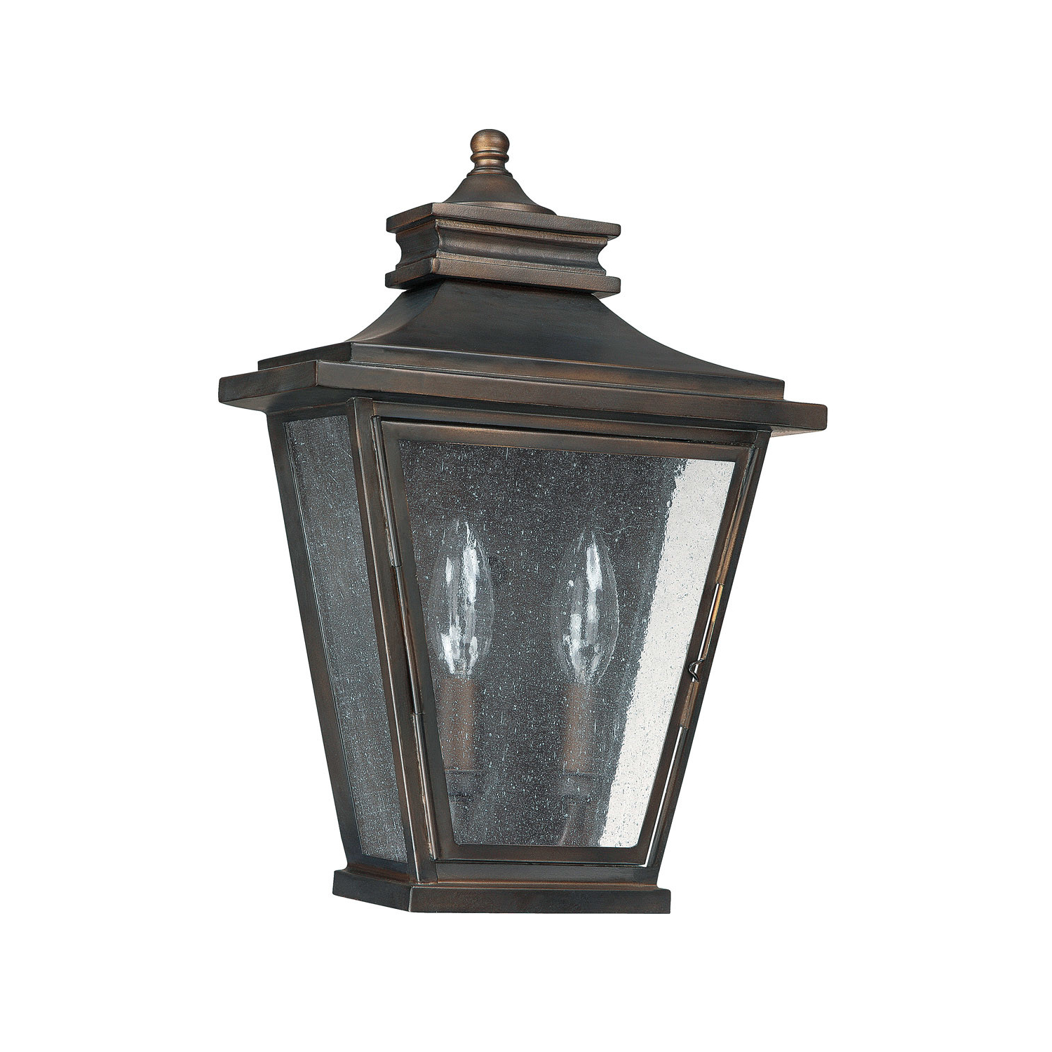 Famous Chicopee 2 – Bulb Glass Outdoor Wall Lanterns Pertaining To Capital Lighting 9460 Bronze Astor 2 Light Ada Compliant (View 8 of 20)