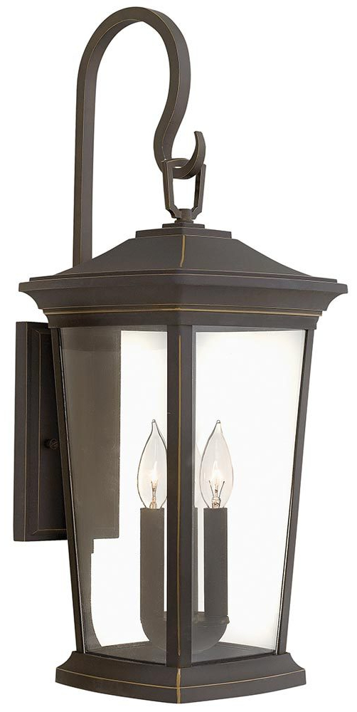 Famous Hinkley Bromley 3 Light Large Outdoor Wall Lantern Oil With Jordy Oil Rubbed Bronze Outdoor Wall Lanterns (View 20 of 20)