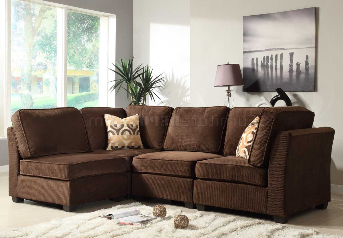 Famous Paul Modular Sectional Sofas Blue With 9709fc Burke Modular Sectional Sofahomelegance W/options (View 13 of 20)