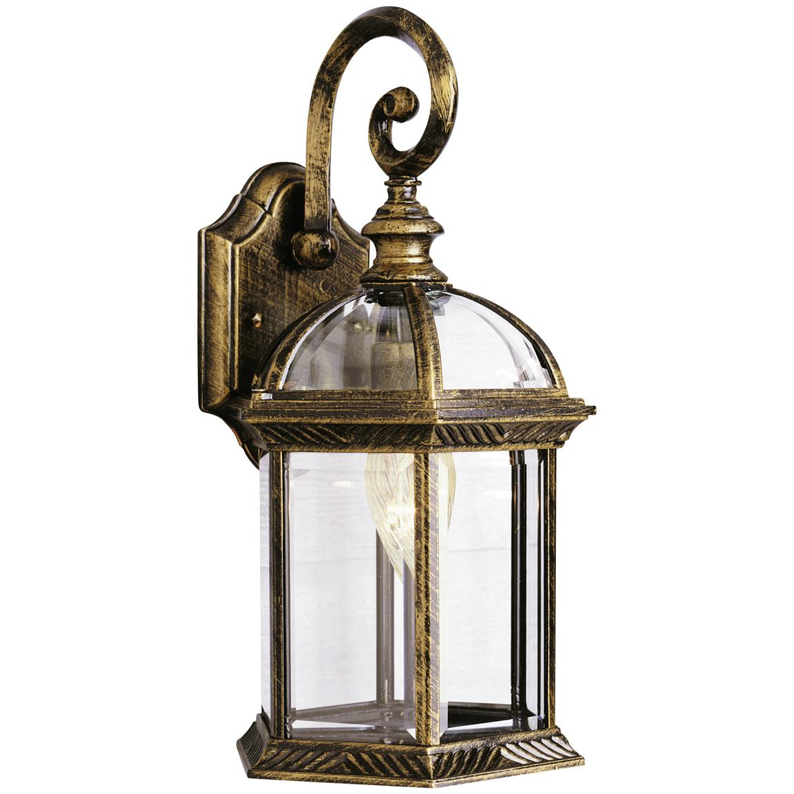 Famous Trans Globe Lighting 1 – Light Outdoor Black And Gold Wall For Castellanos Black Outdoor Wall Lanterns (View 9 of 20)