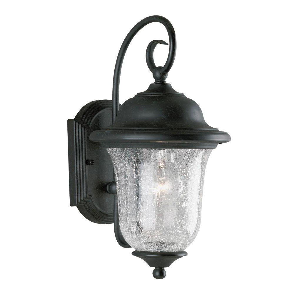 Famous Westinghouse 1 Light Vintage Bronze Steel Exterior Wall In Carrington Beveled Glass Outdoor Wall Lanterns (View 6 of 20)