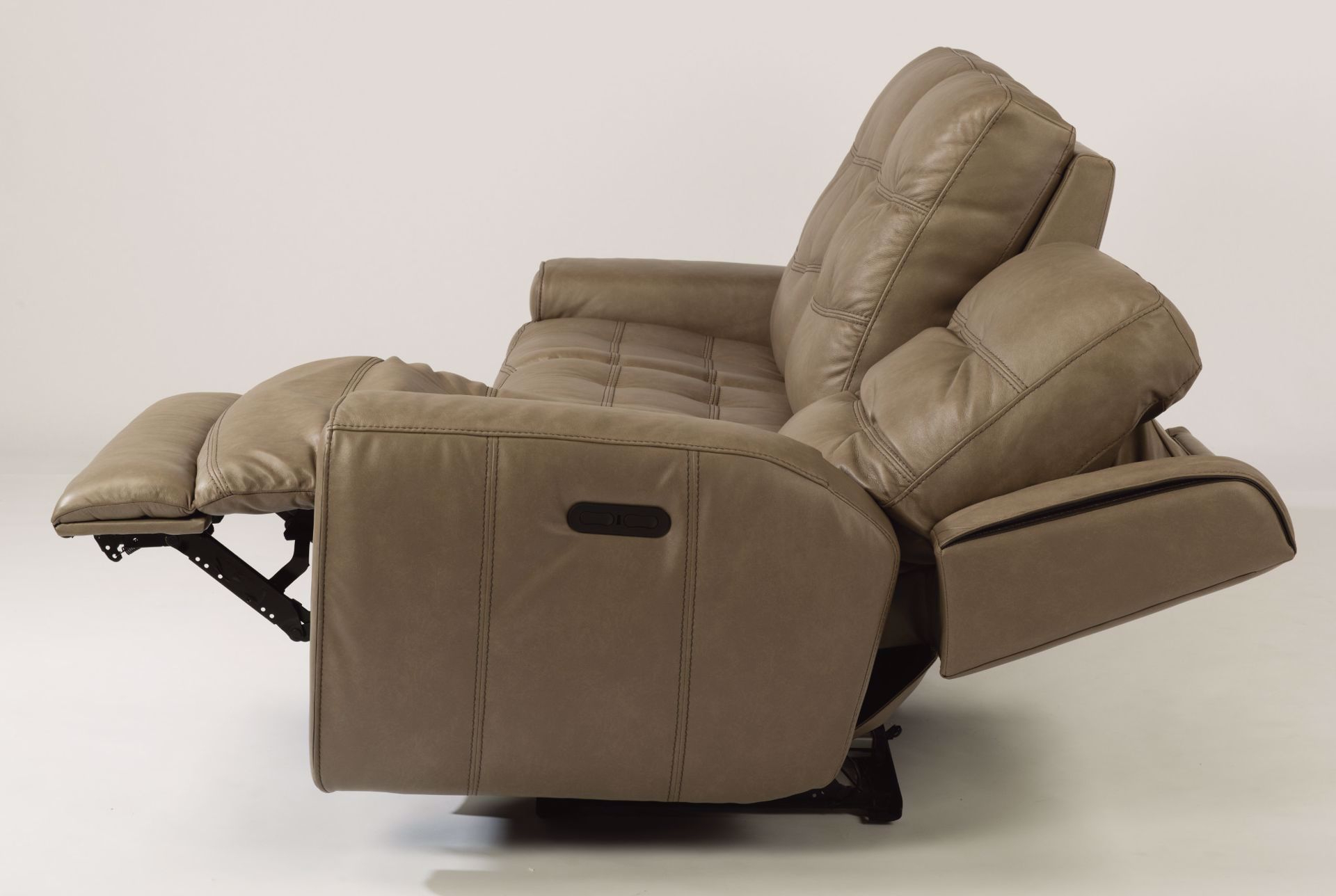 Famous Wicklow Power Reclining Leather Sofa With Power Headrest In Charleston Power Reclining Sofas (View 10 of 20)