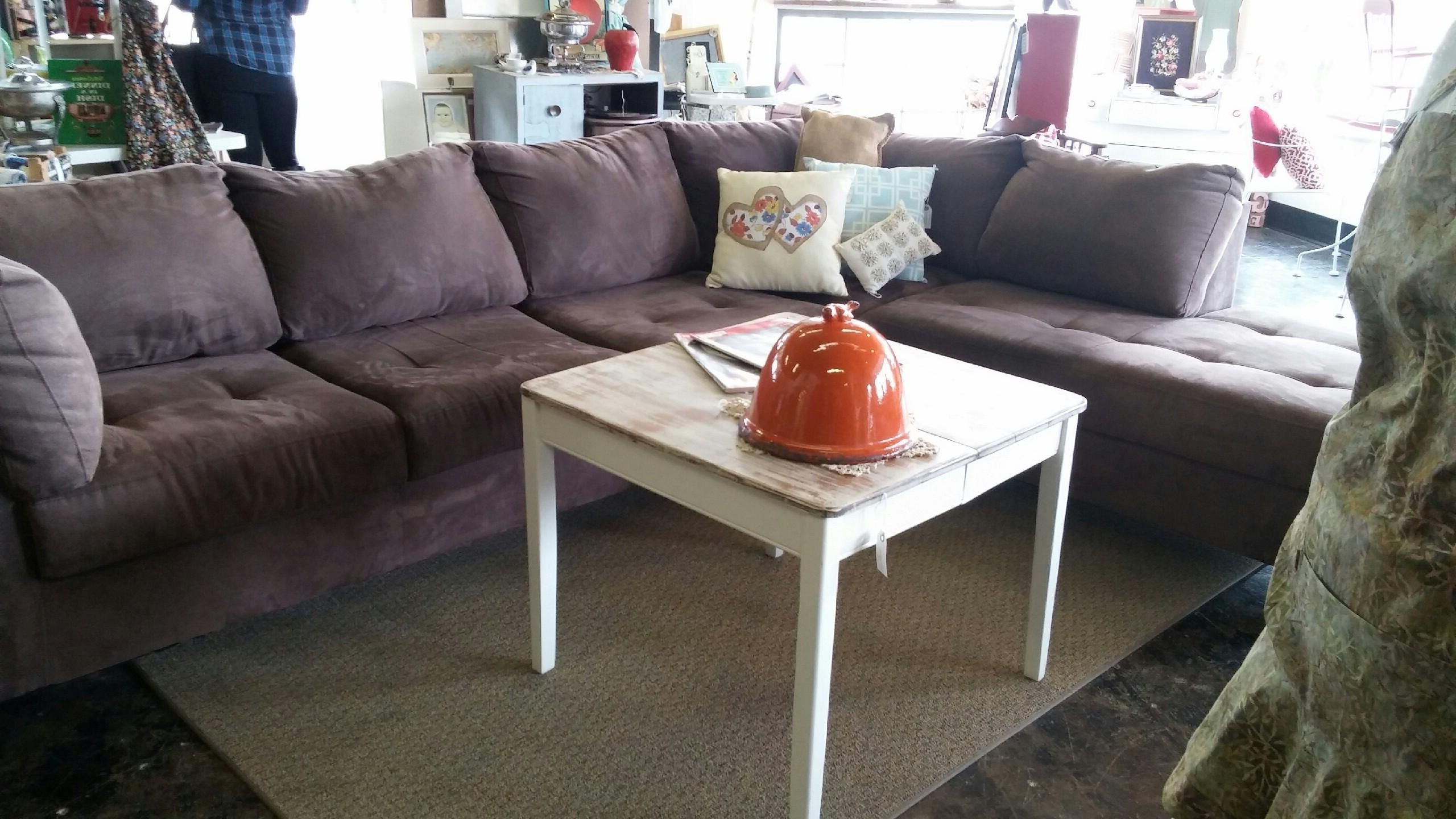 Fashionable French Seamed Sectional Sofas Oblong Mustard With Regard To Pinmustard Seed Home Decor & More On Furniture (View 7 of 20)