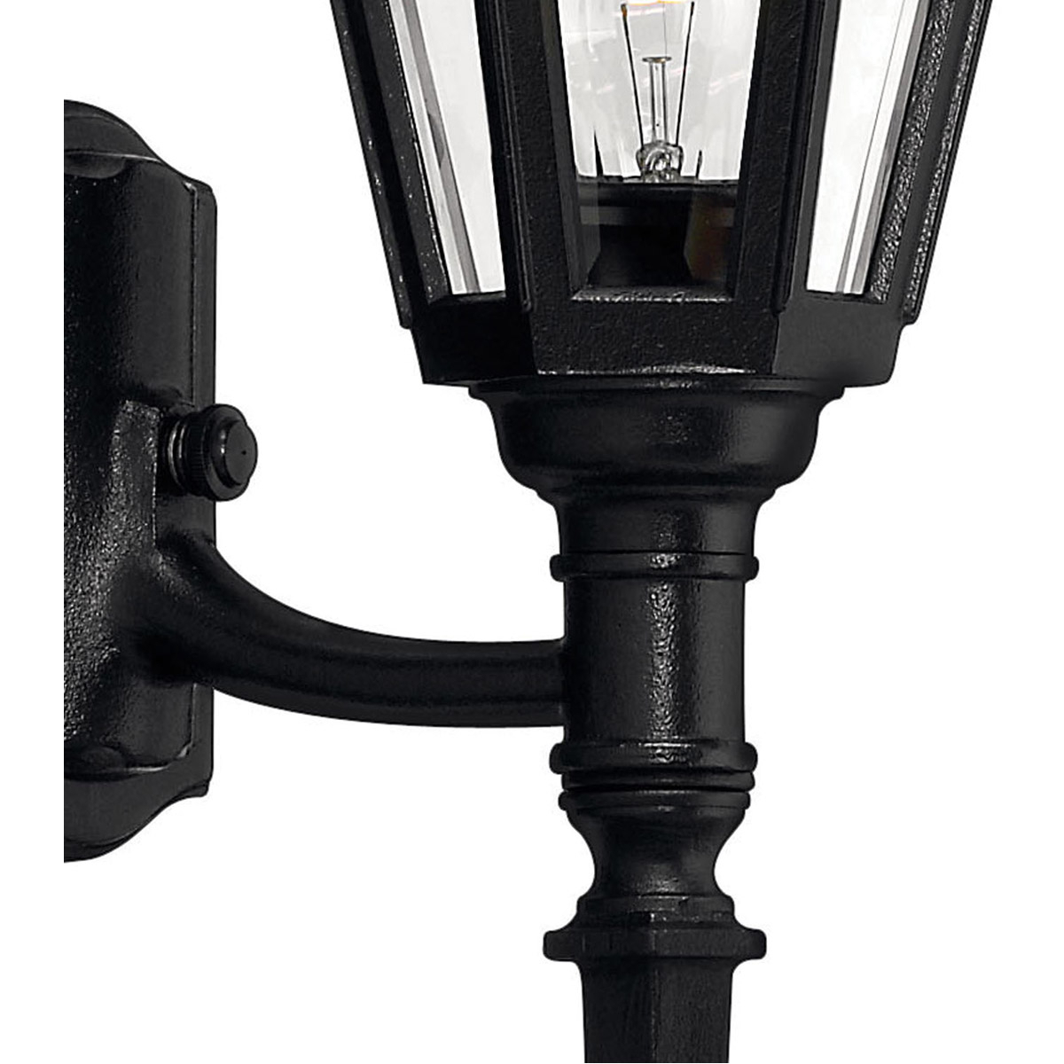 Fashionable Hinkley Lighting 1410bk Manor House Outdoor Wall Light Intended For Esquina Powder Coated Black Outdoor Wall Lanterns (View 12 of 20)