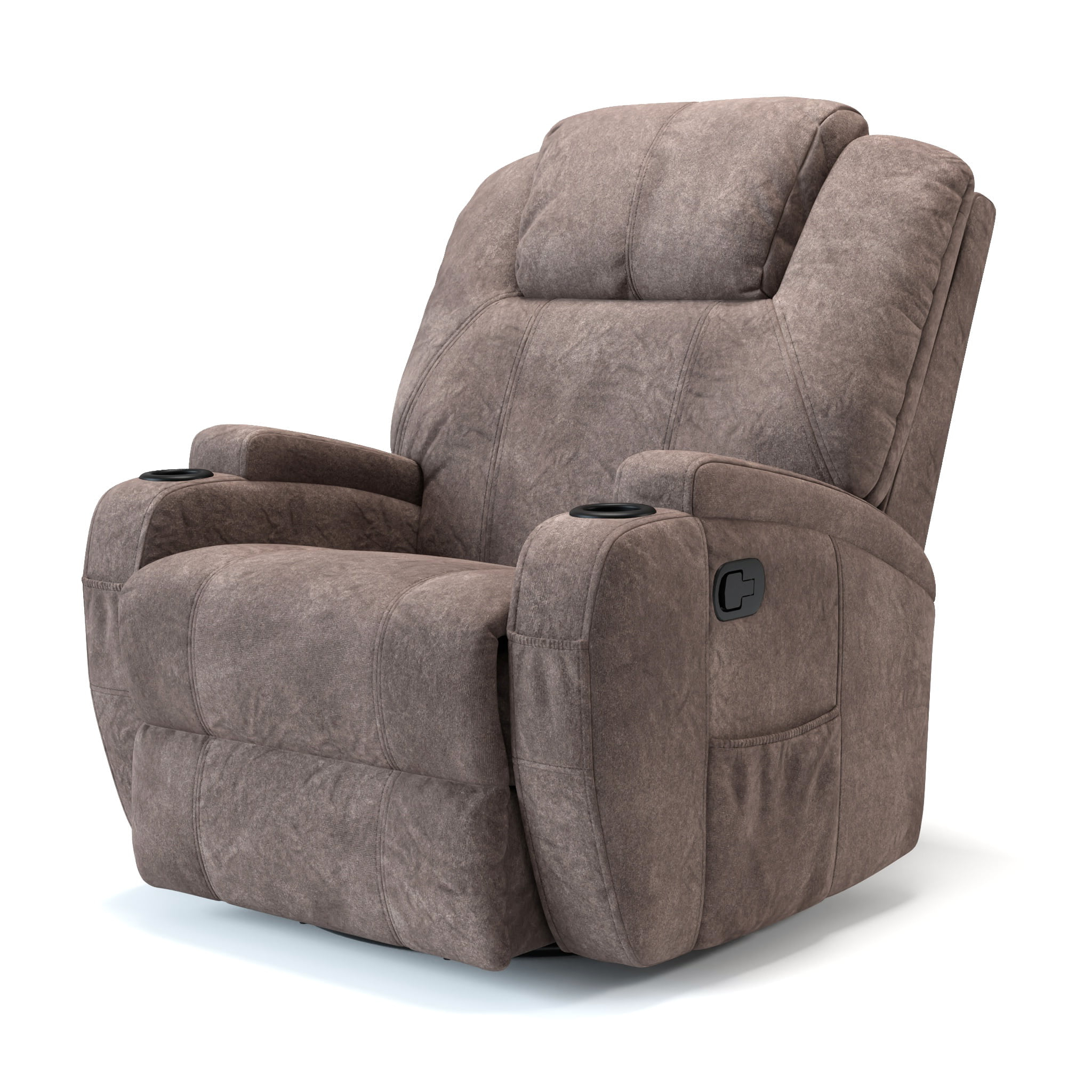 Fashionable Poltrona Do Papai Reclinável Within Colton Manual Reclining Sofas (View 15 of 20)