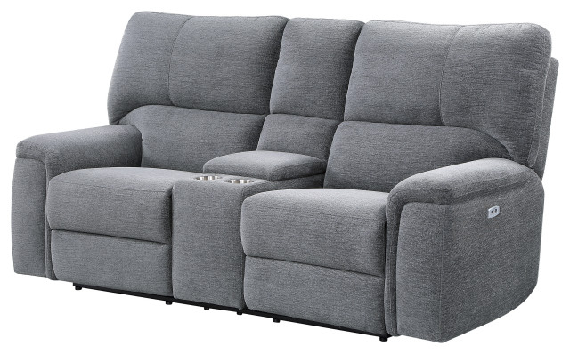 Favorite Ashland Power Reclining Sofa Collection – Transitional With Regard To Magnus Brown Power Reclining Sofas (View 7 of 20)