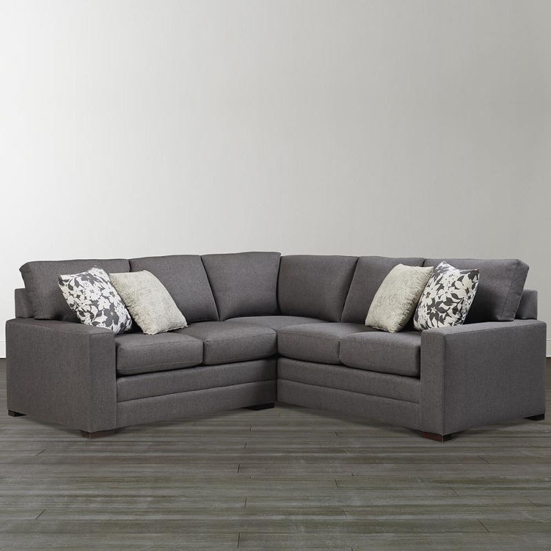 Favorite Braylen Small L Shaped Sectionalbassett – 2626 Lsectls With Regard To Owego L Shaped Sectional Sofas (View 4 of 20)