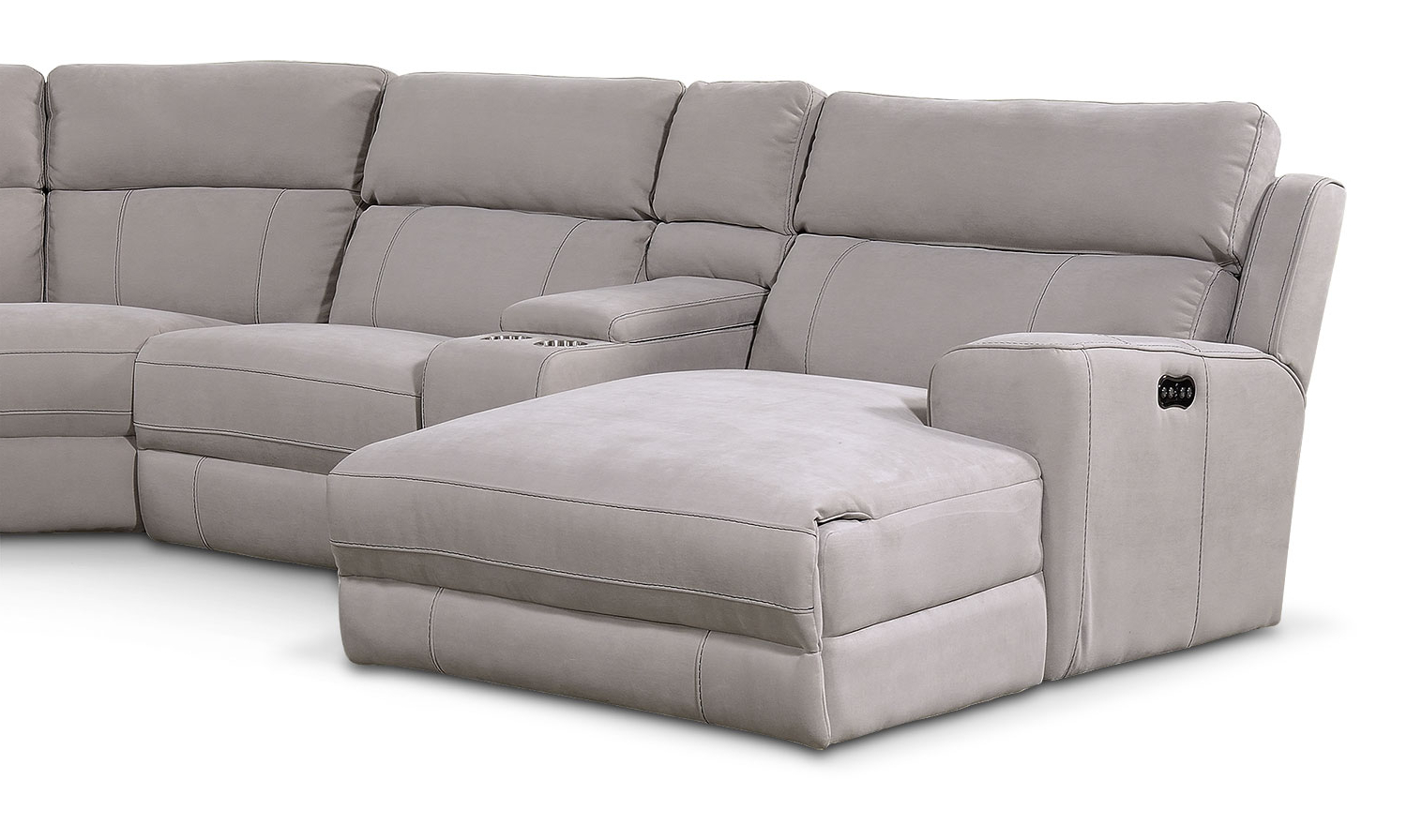 Favorite Copenhagen Reclining Sectional Sofas With Left Storage Chaise In Newport 6 Piece Power Reclining Sectional With Left Facing (View 9 of 20)