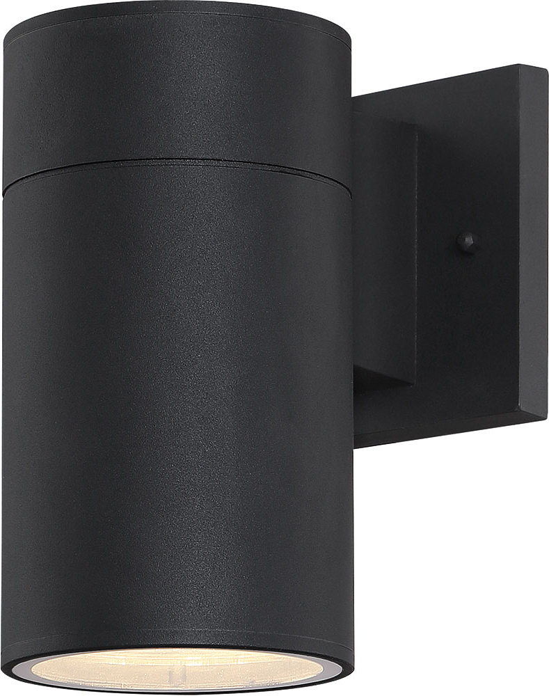 Favorite Craftmade Za2124 Tb Led Pillar Contemporary Textured Matte Within Keikilani Matte Black Wall Lighting (View 17 of 20)