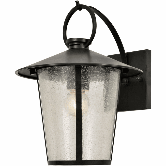 """Favorite Mccay Matte Black Outdoor Wall Lanterns With Crystorama Andover 11"""" Outdoor Wall Sconce – Matte Black (View 11 of 20)"""
