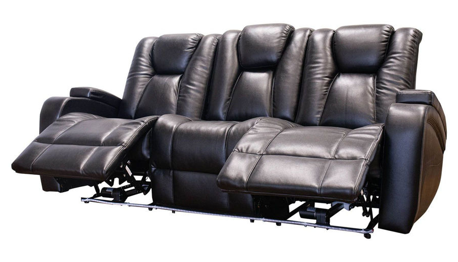 Favorite Panther Leather Power Reclining Sofa Console Loveseat Intended For Panther Fire Leather Dual Power Reclining Sofas (View 7 of 20)