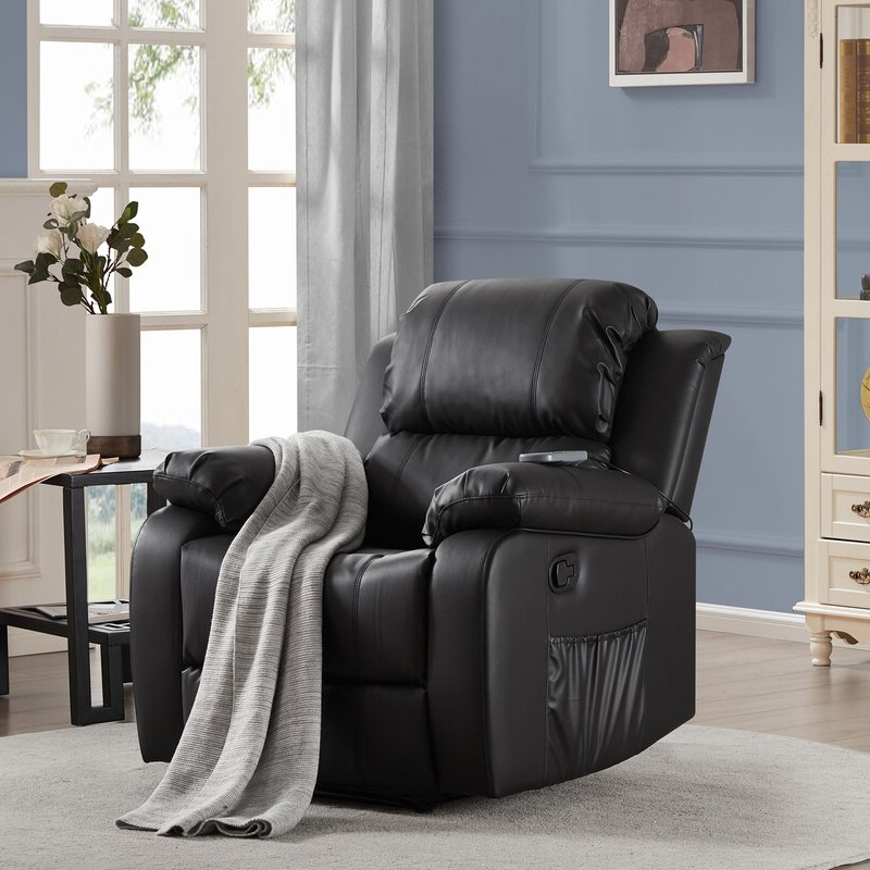 Favorite Red Barrel Studio® Power Reclining Heated Full Body For Navigator Power Reclining Sofas (View 2 of 20)