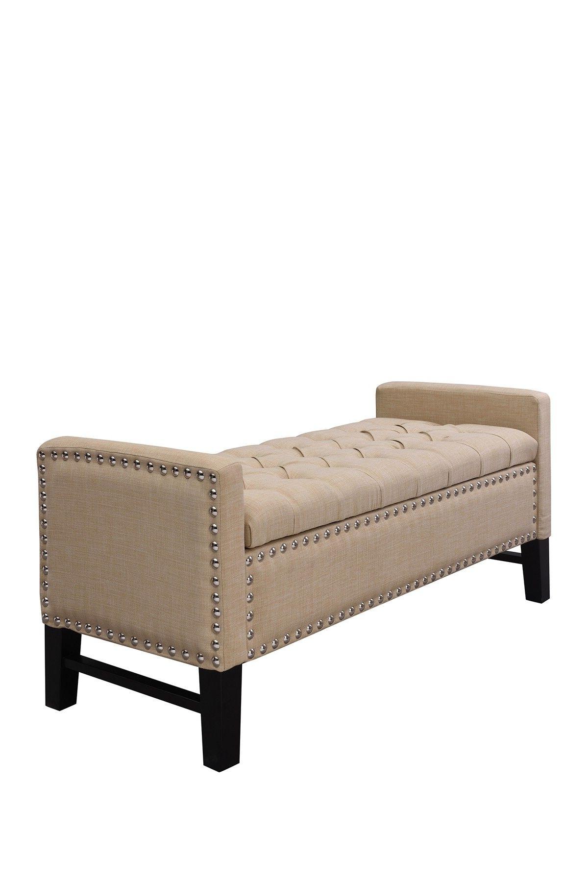 Favorite Scarlett Beige Sofas Within Inspired Home Scarlett Linen Modern Contemporary Button (View 2 of 20)