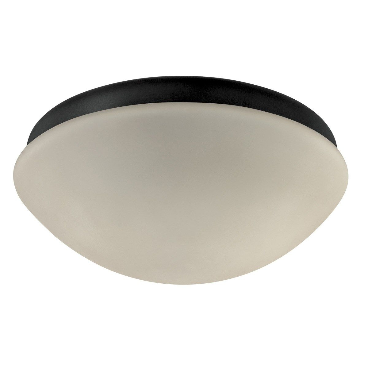 Favorite Sheard Textured Black 2 – Bulb Wall Lanterns Throughout Hunter 28387 2 Light Outdoor Listed Globe Flushmount In (View 13 of 20)