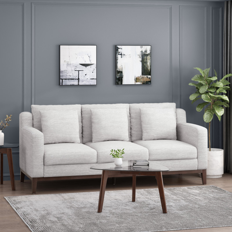 """Favorite Sofas And Sectionals Pertaining To 130"""" Stockton Sectional Couches With Double Chaise Lounge Herringbone Fabric (View 17 of 20)"""