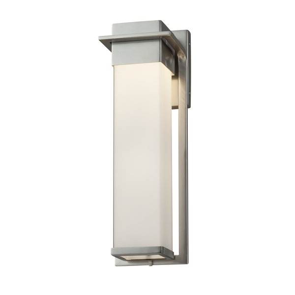Felsted Matte Black 2 – Bulb Outdoor Armed Sconces With Preferred Brayden Studio® Luzerne Integrated Led Glass Outdoor Armed (View 7 of 20)