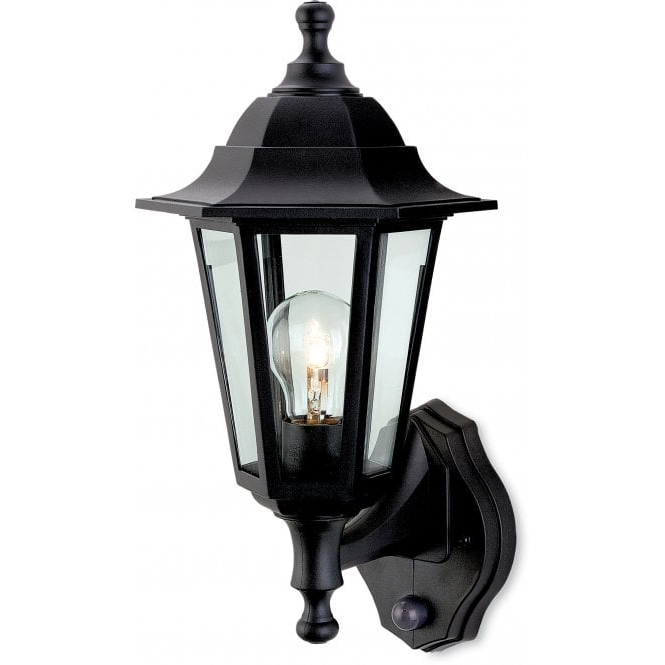Firstlight 8401bk Malmo Single Light Outdoor Wall Lantern With Most Recently Released Palma Black/clear Seeded Glass Outdoor Wall Lanterns (View 5 of 20)