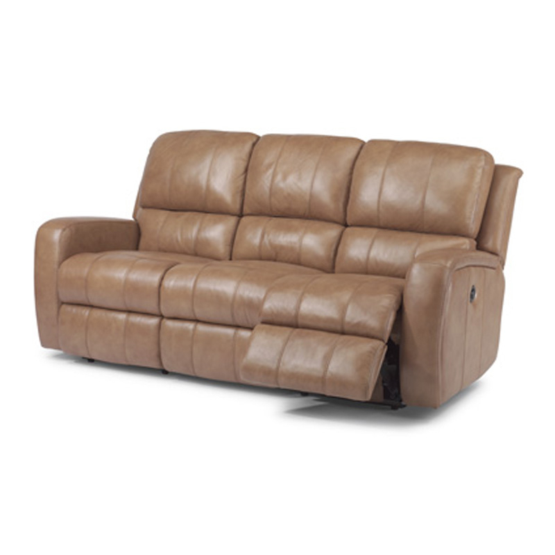 Flexsteel 1157 62p Hammond Leather Power Reclining Sofa With Regard To Well Known Charleston Power Reclining Sofas (View 15 of 20)
