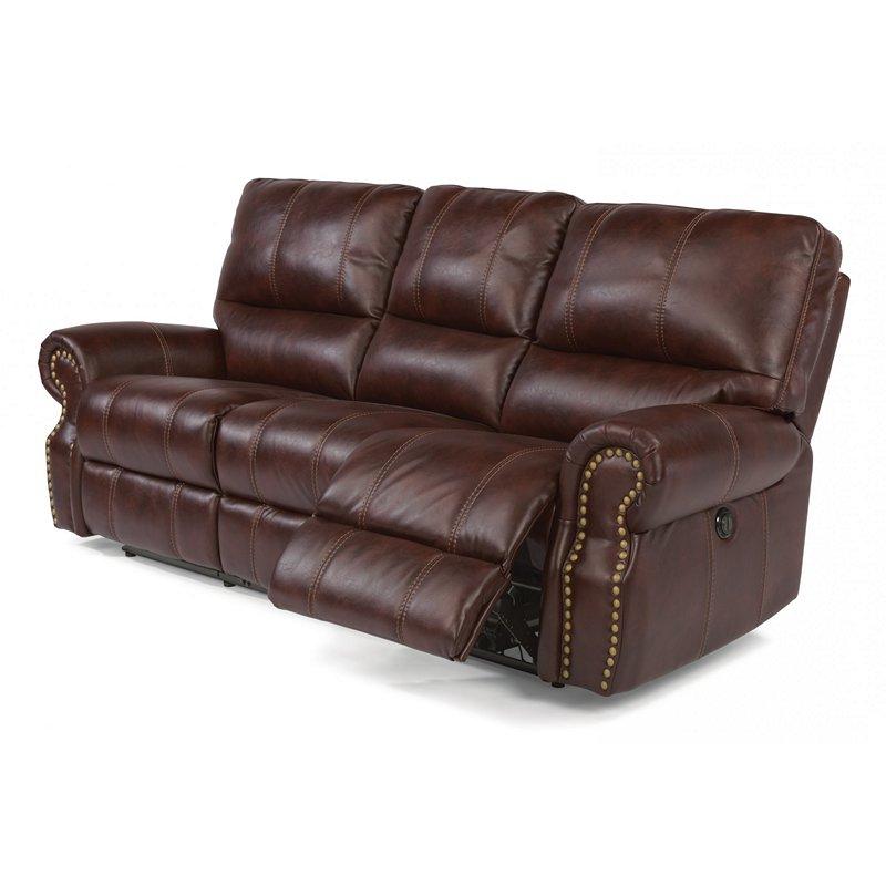 Flexsteel 1672 62p Carlton Fabric Power Reclining Sofa Regarding Most Recently Released Charleston Power Reclining Sofas (View 19 of 20)