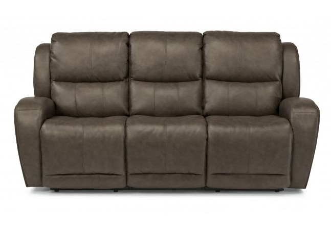 Flexsteel Latitudes Chaz Leather Power Reclining Sofa 1839 Intended For Well Known Titan Leather Power Reclining Sofas (View 9 of 20)