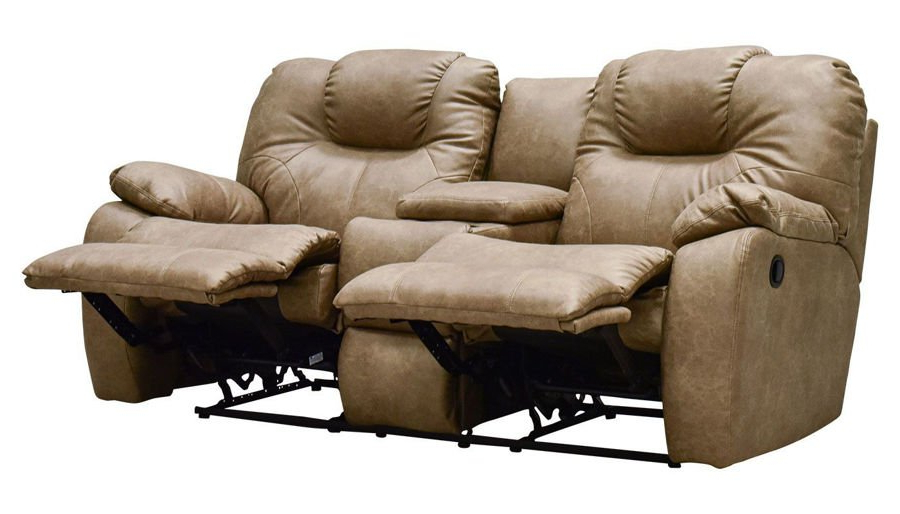 Forte Gray Power Reclining Sofas With Regard To Popular Reclining Loveseats – Living Room (View 13 of 20)