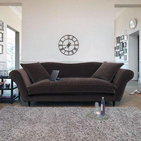 French Seamed Sectional Sofas In Velvet With Regard To Most Recent Velvet Sofa Designs For Almost Any Living Room – Velvet Sofa (View 16 of 20)