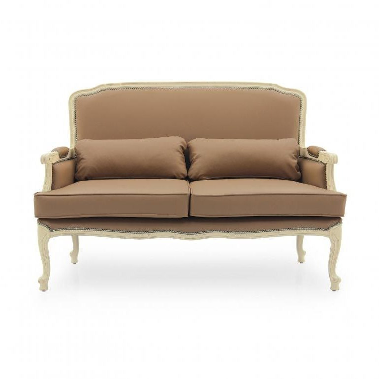 French Seamed Sectional Sofas Oblong Mustard Intended For 2019 Vestiaire French Two Seater Sofa Ms9788d Made To Order (View 10 of 20)