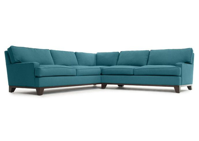 Furniture, Sectional Sofa, Blue (View 5 of 20)