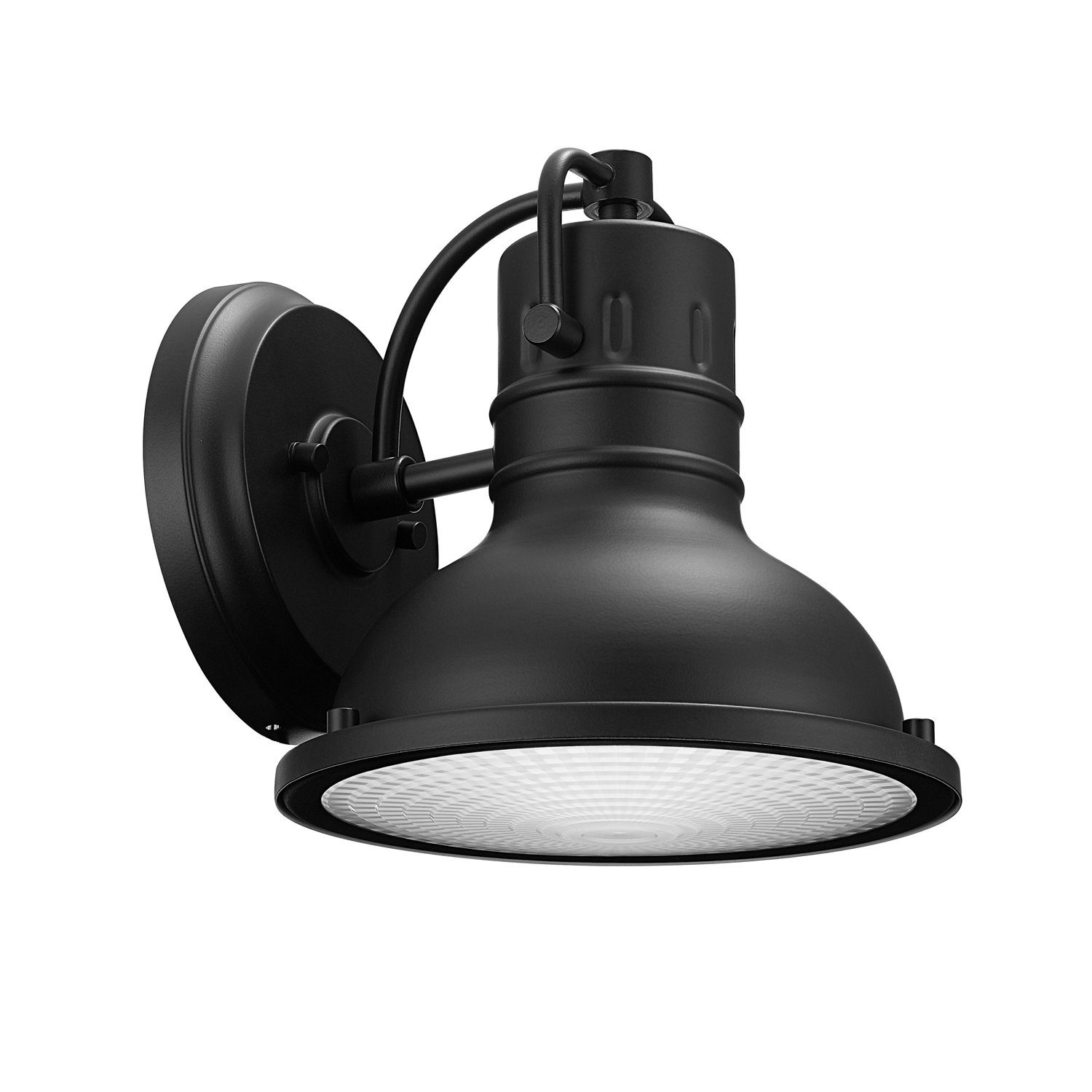 Globe Electric Harbor 1 Light Matte Black Outdoor Indoor Throughout Most Current Mccay Matte Black Outdoor Wall Lanterns (View 5 of 20)