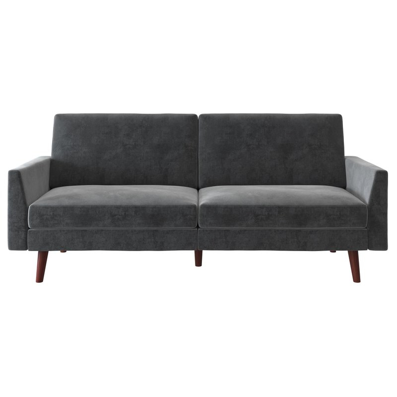 Grey Room Within Debbie Coil Sectional Futon Sofas (View 11 of 20)