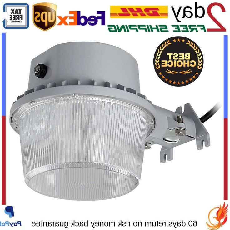 Gunnora Outdoor Barn Lights With Dusk To Dawn Inside Most Up To Date Outdoor Led Barn Security Light Dusk To Dawn Waterproof (View 3 of 20)