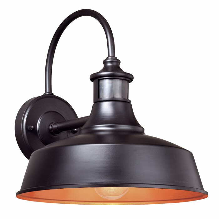 Gunnora Outdoor Barn Lights With Dusk To Dawn Within Favorite Andover Mills™ Gunnora 1 – Bulb Outdoor Barn Light With (View 11 of 20)