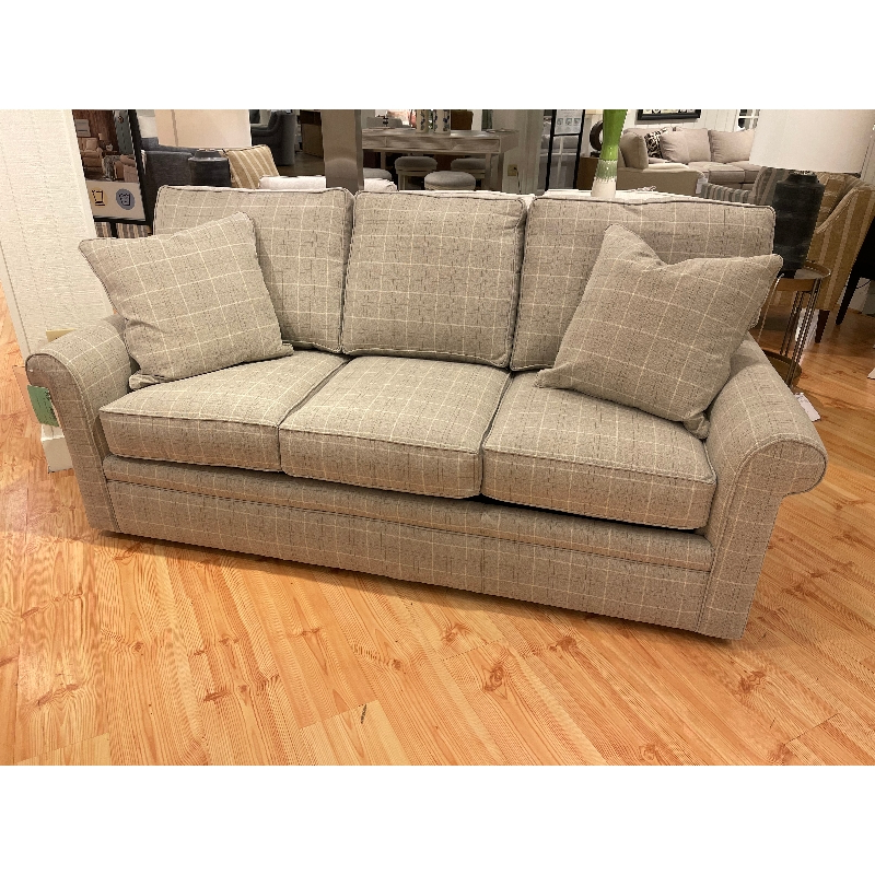Hadley Small Space Sectional Futon Sofas For Trendy Rowe F139q Sleeper Sofa Sale Hickory Park Furniture Galleries (View 4 of 20)