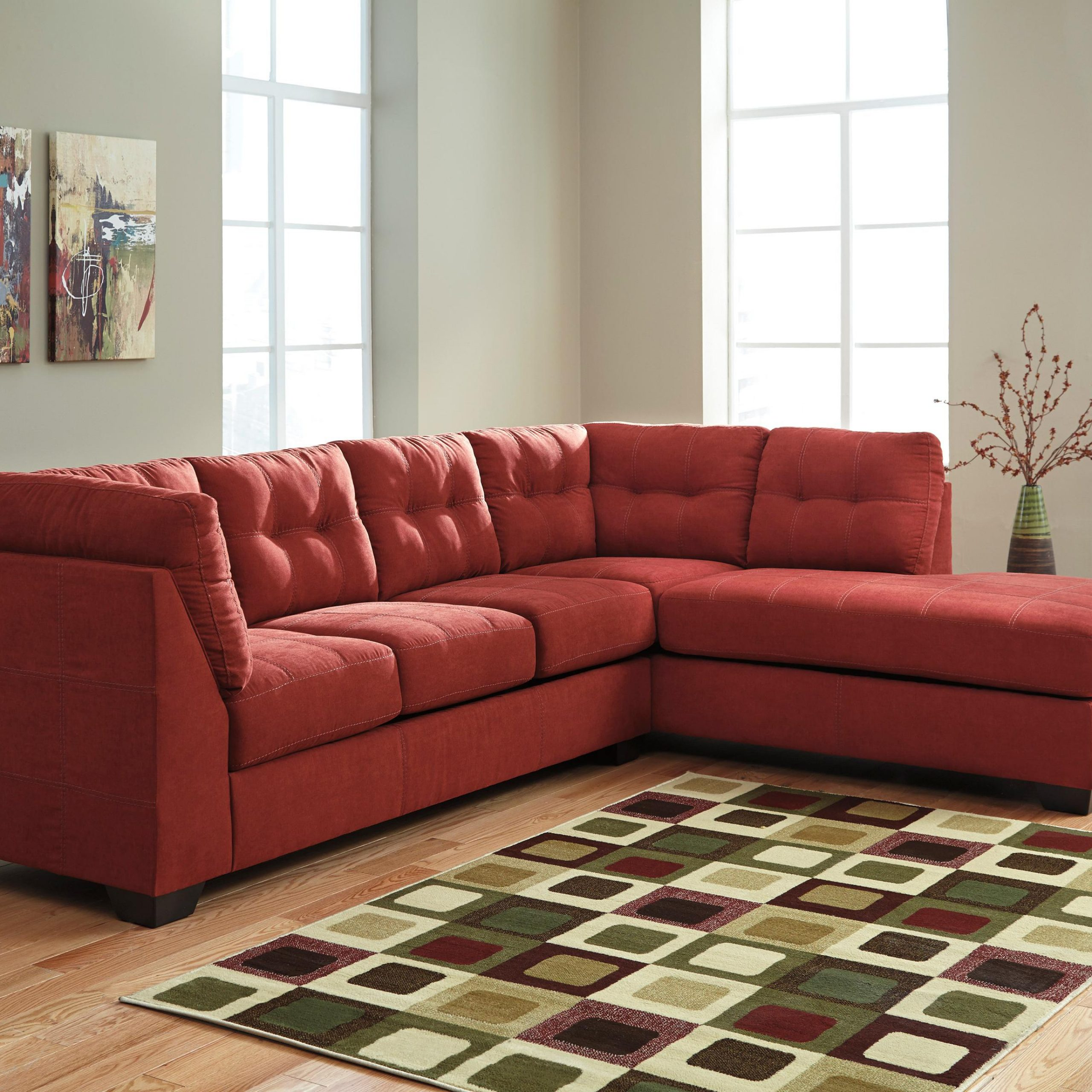 Hannah Left Sectional Sofas In Current Benchcraft Maier – Sienna 2 Piece Sectional W/ Sleeper (View 6 of 20)
