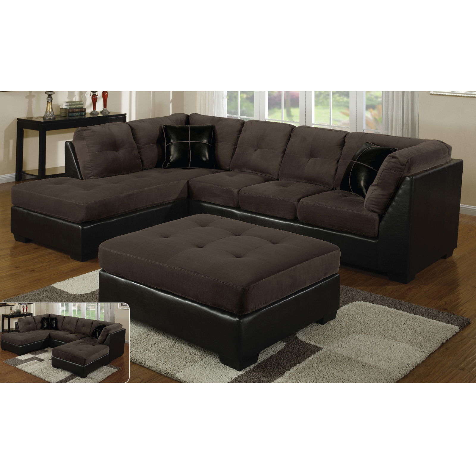 Hannah Right Sectional Sofas Inside 2018 E Motion Furniture Right Tufted Chaise Sectional (View 4 of 20)