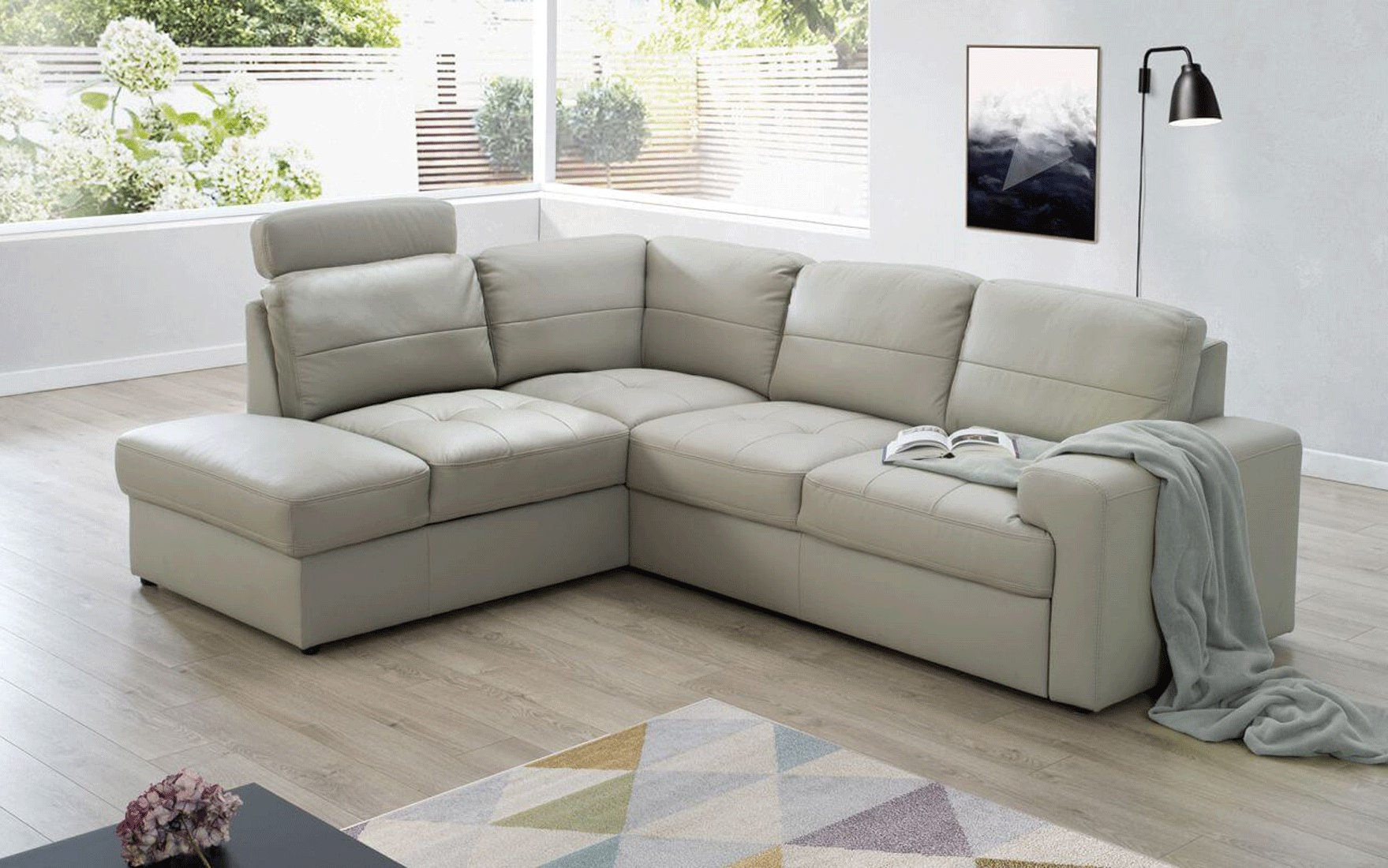 Hannah Right Sectional Sofas With Regard To Popular Ella Sectional Right W/bed & Storage, Sectionals With (View 11 of 20)