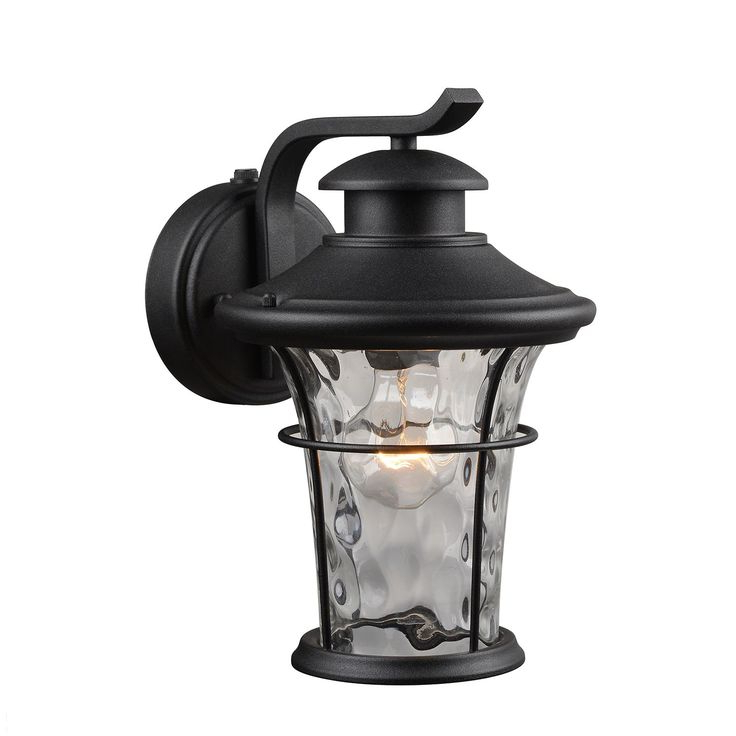 Hardware House Wall Mounted Dusk To Dawn Lantern Intended For Best And Newest Edenfield Water Glass Outdoor Wall Lanterns With Dusk To Dawn (View 6 of 20)