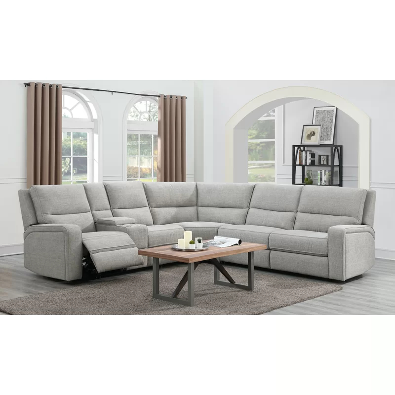 """Harlee 116"""" Wide Right Hand Facing Corner Sectional With Regard To Well Known Monet Right Facing Sectional Sofas (View 11 of 20)"""