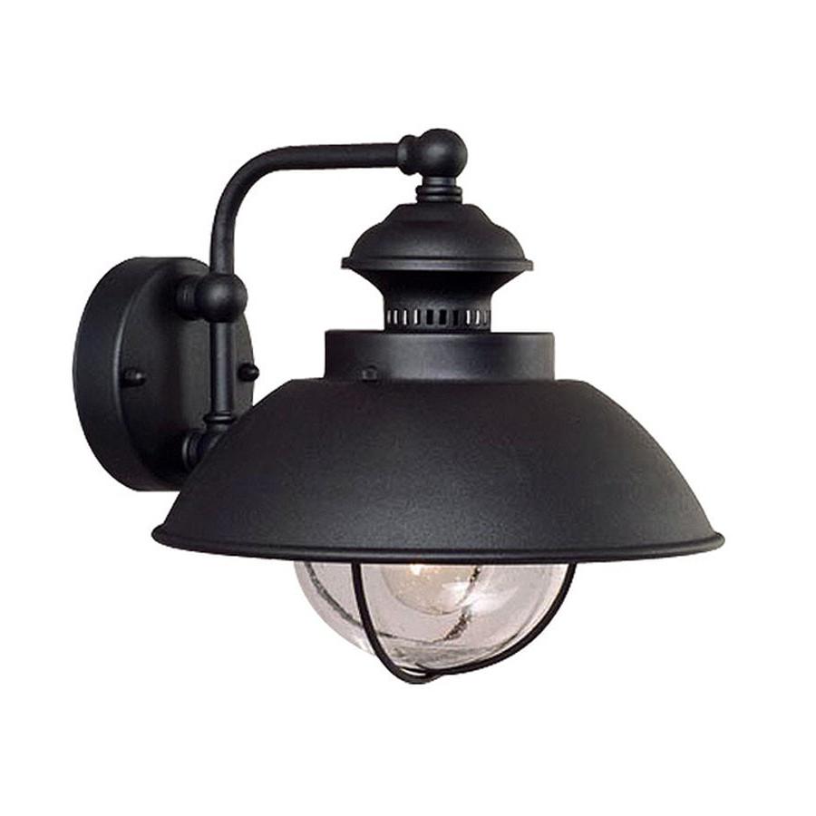 Heitman Black Wall Lanterns Inside Most Popular Shop Cascadia Lighting Nautical  (View 9 of 20)