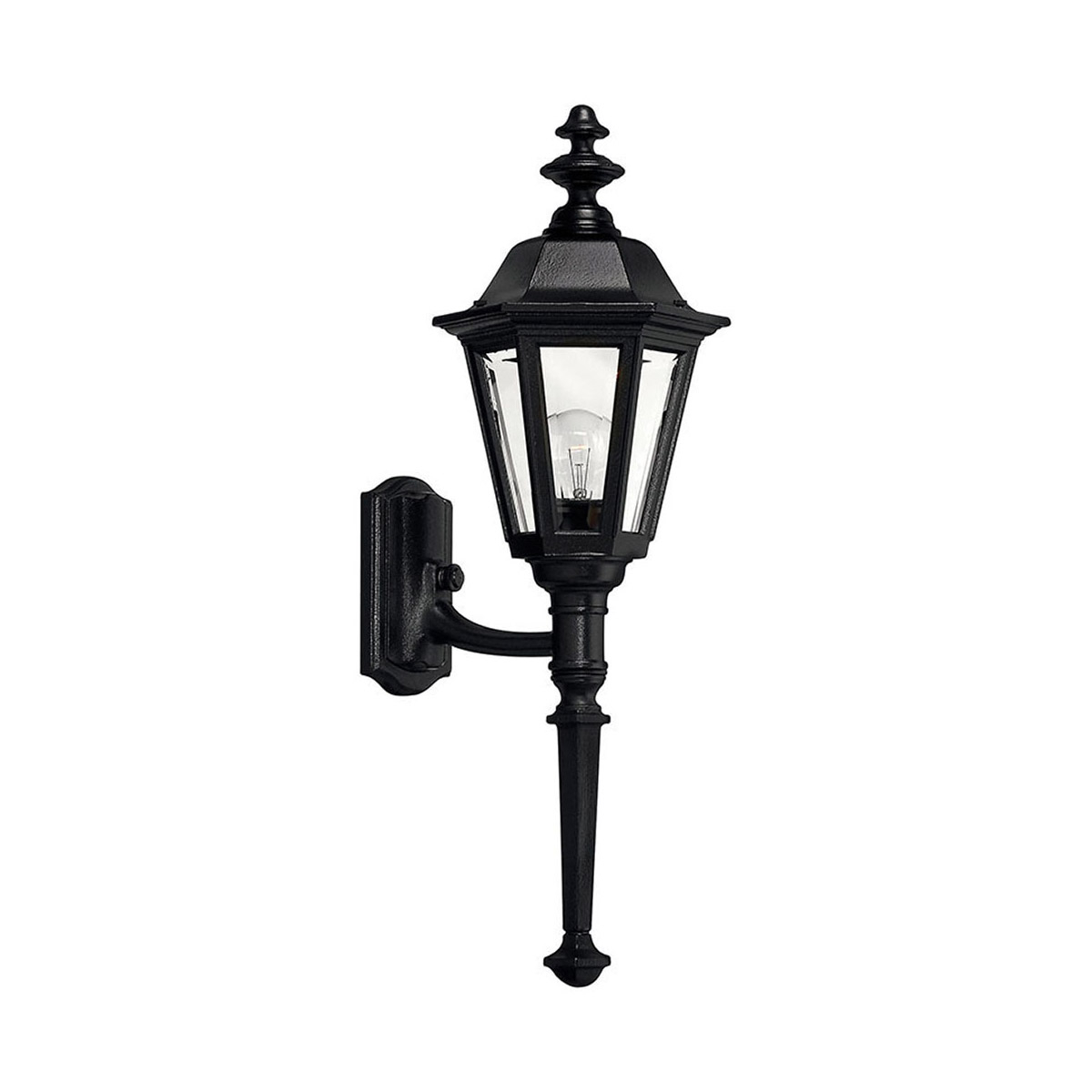 Hinkley Lighting 1410bk Manor House Outdoor Wall Light For Most Current Esquina Powder Coated Black Outdoor Wall Lanterns (View 1 of 20)