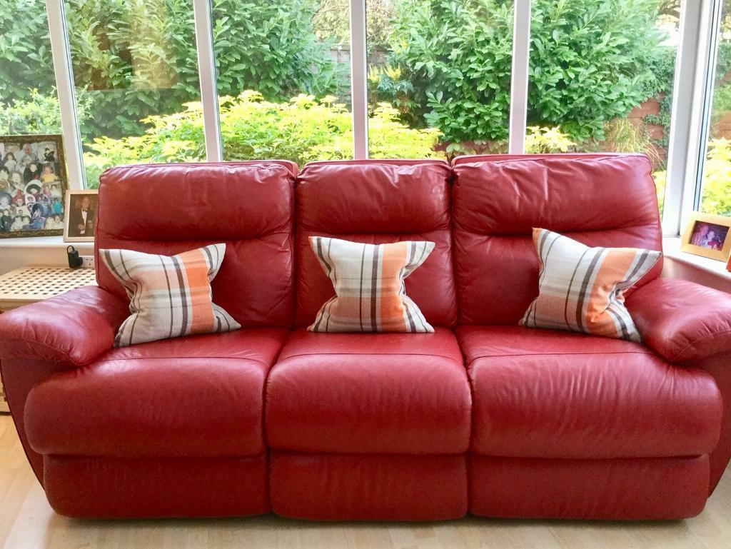 In Watford Pertaining To Popular Red Sofas (View 6 of 20)