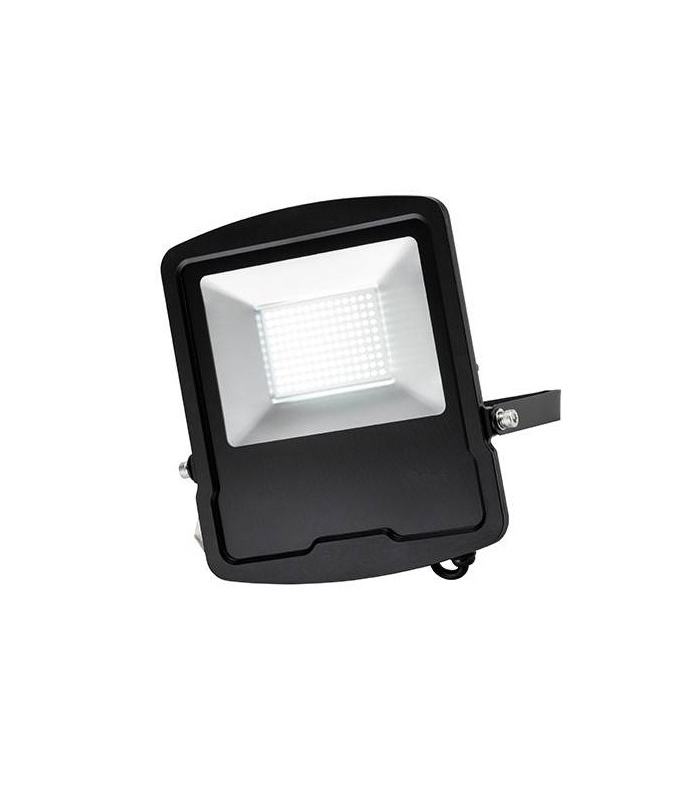 Integrated Led Outdoor Wall Flood Light Matt Black, Glass With Regard To 2019 Vernie Black Integrated Led Outdoor Bulkhead Lights (View 11 of 20)