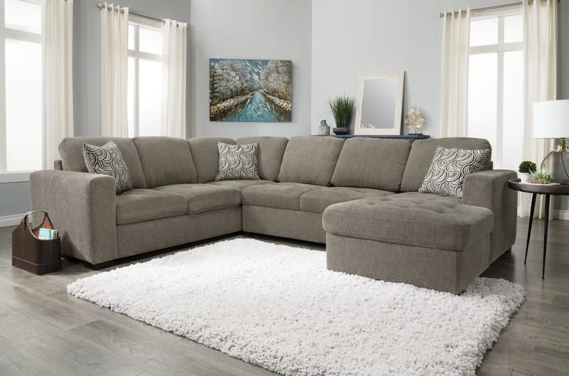 Izzy 3 Piece Chenille Left Facing Sleeper Sectional With Recent Hugo Chenille Upholstered Storage Sectional Futon Sofas (View 11 of 20)