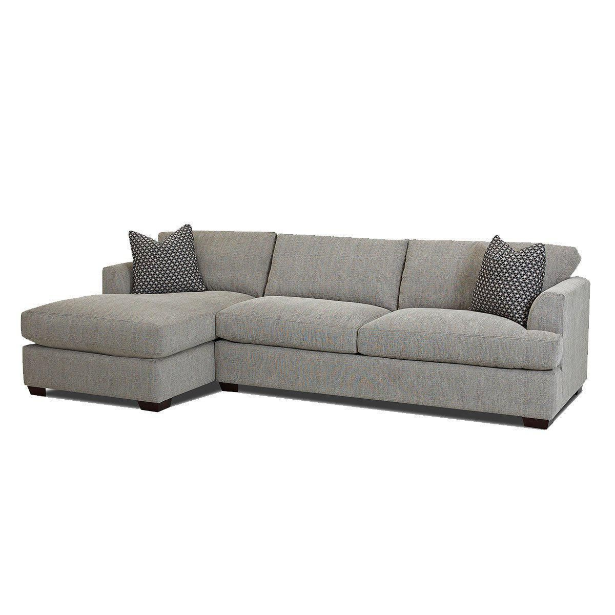 Jennifer Furniture's Bentley 2 Piece Sectional Comes In Intended For Widely Used 2pc Maddox Left Arm Facing Sectional Sofas With Chaise Brown (View 14 of 20)