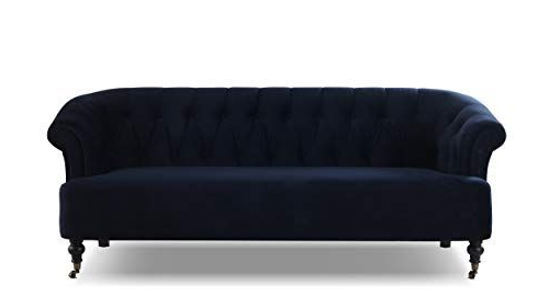 Jennifer Taylor Home 63520 3 872 Maxine Sofas, Dark Navy Pertaining To Trendy Annette Navy Sofas (View 1 of 20)