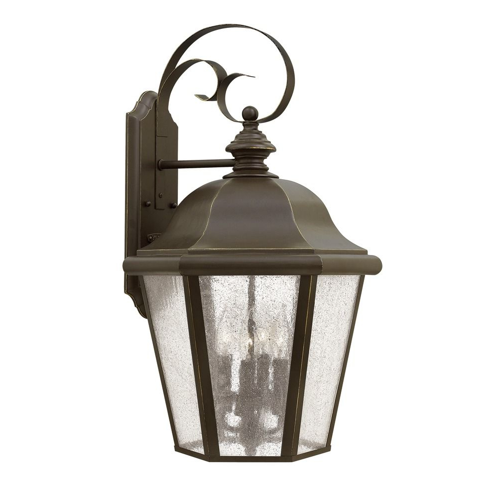 Jordy Oil Rubbed Bronze Outdoor Wall Lanterns For Most Up To Date Hinkley Lighting Edgewater Oil Rubbed Bronze Outdoor Wall (View 14 of 20)