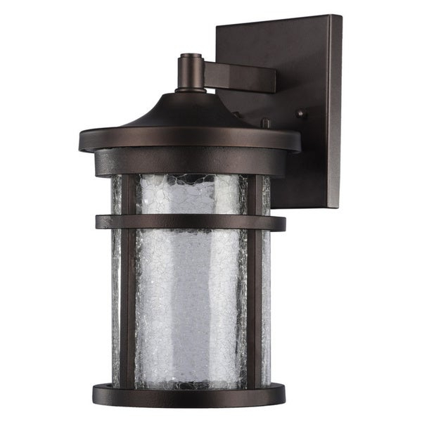 Jordy Oil Rubbed Bronze Outdoor Wall Lanterns Regarding Well Known Shop Chloe Transitional 1 Light Oil Rubbed Bronze Led (View 18 of 20)