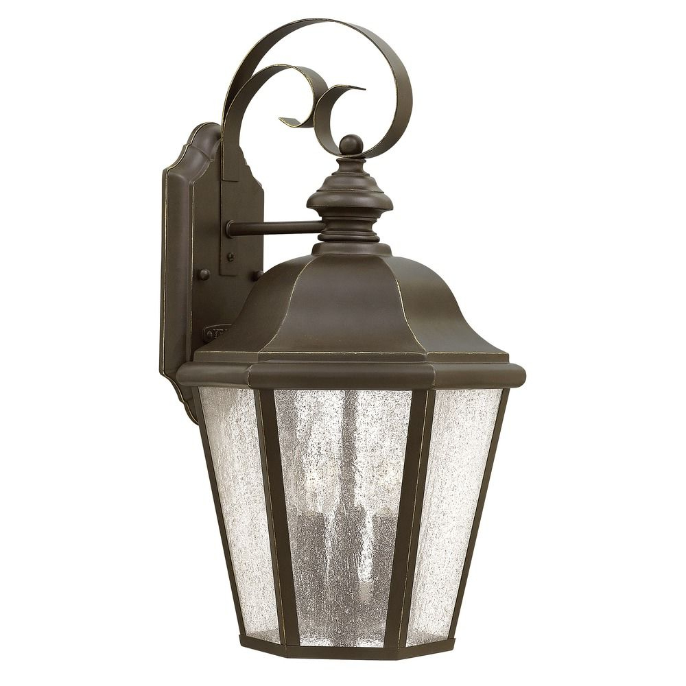 Jordy Oil Rubbed Bronze Outdoor Wall Lanterns With Regard To Most Up To Date Hinkley Lighting Edgewater Oil Rubbed Bronze Outdoor Wall (View 11 of 20)