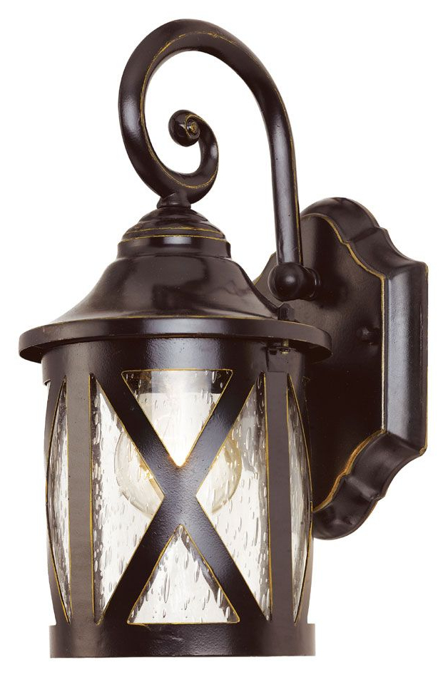 Jordy Oil Rubbed Bronze Outdoor Wall Lanterns With Regard To Newest Trans Globe 5129 Rob 12 Inch Tall Traditional Rubbed Oil (View 5 of 20)