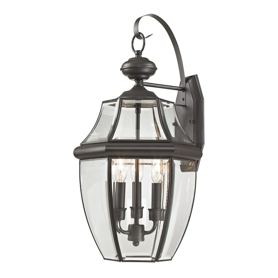 Jordy Oil Rubbed Bronze Outdoor Wall Lanterns With Widely Used Shop Westmore Lighting Keswick 23 In H Oil Rubbed Bronze (View 3 of 20)